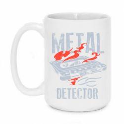 Кружка 420ml Metal detector