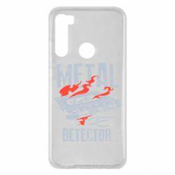 Чохол для Xiaomi Redmi Note 8 Metal detector