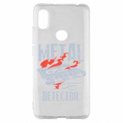 Чохол для Xiaomi Redmi S2 Metal detector