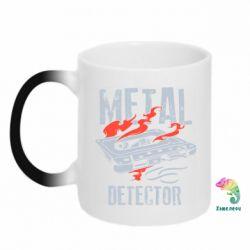 Кружка-хамелеон Metal detector