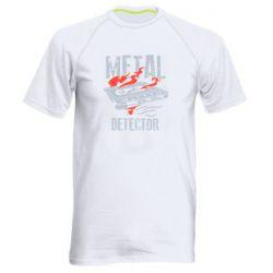 Чоловіча спортивна футболка Metal detector