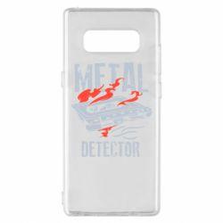 Чохол для Samsung Note 8 Metal detector