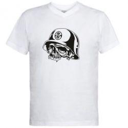 Мужская футболка  с V-образным вырезом Metal Mulisha - FatLine