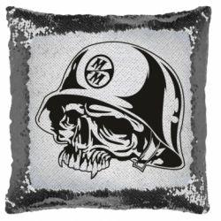 Подушка-хамелеон Metal Mulisha