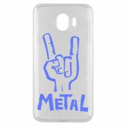 Чехол для Samsung J4 Metal - FatLine