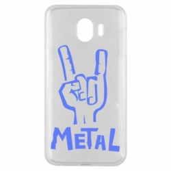 Чехол для Samsung J4 Metal