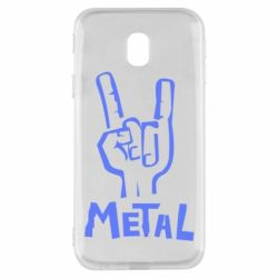 Чехол для Samsung J3 2017 Metal