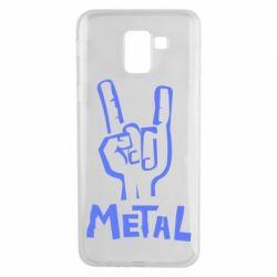 Чехол для Samsung J6 Metal