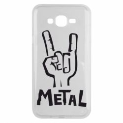 Чехол для Samsung J7 2015 Metal