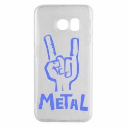 Чехол для Samsung S6 EDGE Metal - FatLine