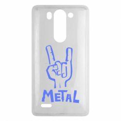 Чехол для LG G3 mini/G3s Metal - FatLine