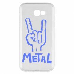 Чехол для Samsung A7 2017 Metal - FatLine