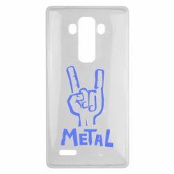 Чехол для LG G4 Metal - FatLine