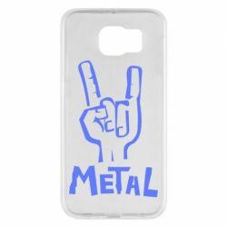 Чехол для Samsung S6 Metal