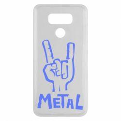Чехол для LG G6 Metal - FatLine