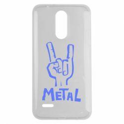 Чехол для LG K7 2017 Metal - FatLine