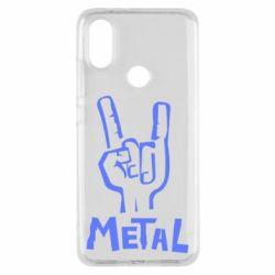 Чехол для Xiaomi Mi A2 Metal - FatLine