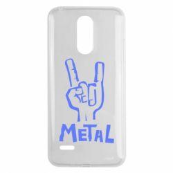 Чехол для LG K8 2017 Metal - FatLine
