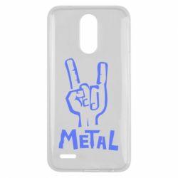 Чехол для LG K10 2017 Metal - FatLine