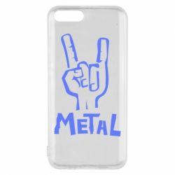 Чехол для Xiaomi Mi6 Metal - FatLine