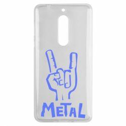 Чехол для Nokia 5 Metal - FatLine