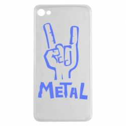 Чехол для Meizu U20 Metal - FatLine