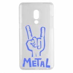 Чехол для Meizu 15 Plus Metal - FatLine