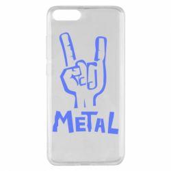Чехол для Xiaomi Mi Note 3 Metal - FatLine