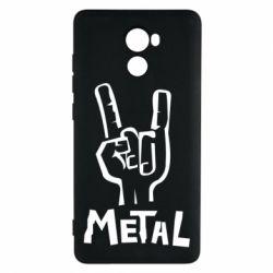 Чехол для Xiaomi Redmi 4 Metal - FatLine