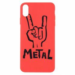 Чехол для iPhone Xs Max Metal - FatLine