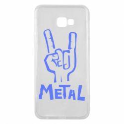 Чехол для Samsung J4 Plus 2018 Metal - FatLine