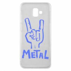 Чехол для Samsung J6 Plus 2018 Metal - FatLine