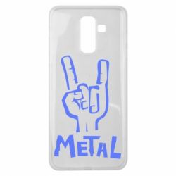 Чехол для Samsung J8 2018 Metal
