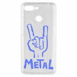 Чехол для Xiaomi Redmi 6 Metal - FatLine