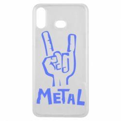 Чехол для Samsung A6s Metal