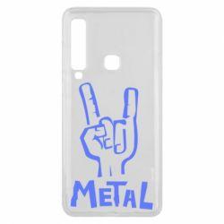 Чехол для Samsung A9 2018 Metal