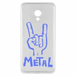 Чехол для Meizu M5 Metal - FatLine
