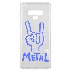 Чехол для Samsung Note 9 Metal - FatLine