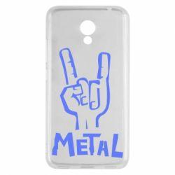 Чехол для Meizu M5c Metal - FatLine