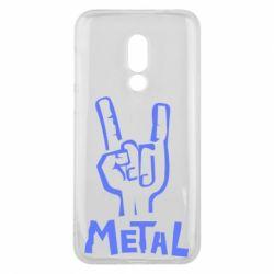 Чехол для Meizu 16 Metal - FatLine