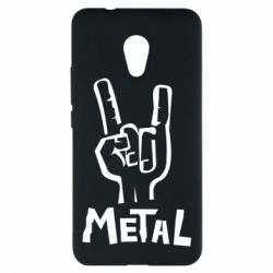 Чехол для Meizu M5s Metal - FatLine