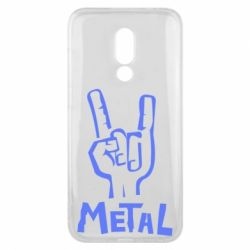 Чехол для Meizu 16x Metal - FatLine