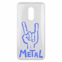 Чехол для Meizu 16 plus Metal - FatLine