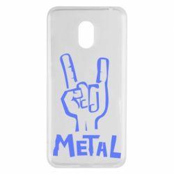 Чехол для Meizu M6 Metal - FatLine