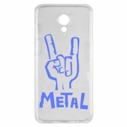 Чехол для Meizu M6s Metal - FatLine