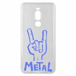 Чехол для Meizu Note 8 Metal - FatLine