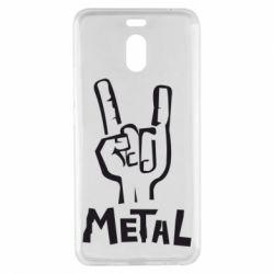 Чехол для Meizu M6 Note Metal - FatLine