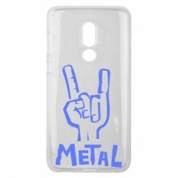 Чехол для Meizu V8 Metal - FatLine