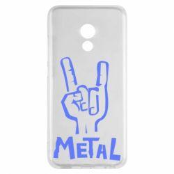 Чехол для Meizu Pro 6 Metal - FatLine