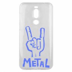 Чехол для Meizu X8 Metal - FatLine